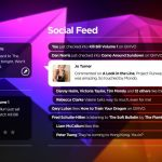 social feed - QVIVO: o novo media player para sua TV