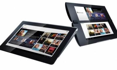 Sony Tablet S1 S2 - Sony anuncia dois tablets com Android Honeycomb, um deles com duas telas