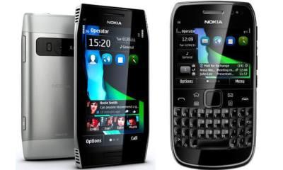 nokia e6 x7 - Vídeos: Nokia X7 e E6 com Symbian Anna (Pr2)