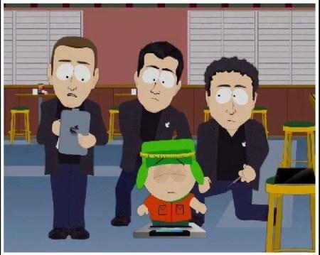 92838 south park ipad 500x399 - Problema de segurança da Apple chega ao South Park