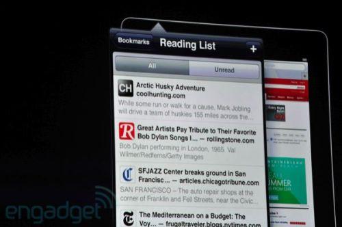 apple wwdc 2011 reading list 500x332 - Conheça as novidades do iOS 5 para iPhone 3GS e 4, iPad 1 e 2 e iPod Touch 3G e 4G