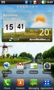 LG Optimus Black Home Screen 180x300 - Teste de UIs: as melhores interfaces de usuário para smartphones