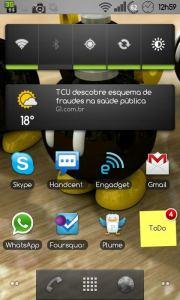 Nexus S UI Android Interface 180x300 - Teste de UIs: as melhores interfaces de usuário para smartphones