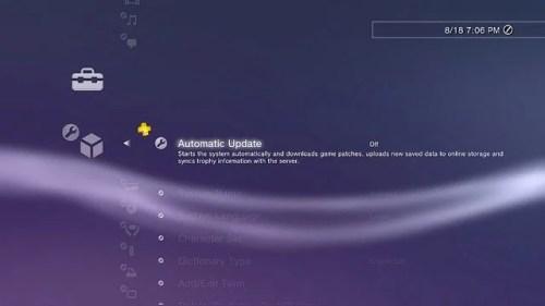 AutoUpdate 500x281 - PS3: Atualização do sistema