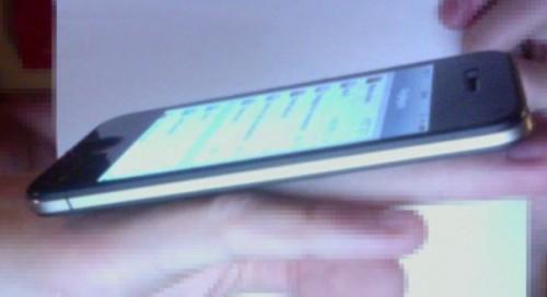 iphone 5 maybe 500x272 - iPhone 5: foto mostra suposto perfil do aparelho de perto