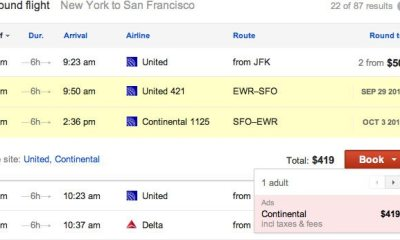 google flight search - Flight Search, a nova pesquisa do Google especializada em vôos