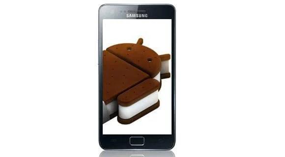 Samsung Galaxy SII ICS 4.0 Ice Cream Sandwich - Samsung atualizará o Galaxy S, Nexus S e o Galaxy S II para o Android 4.0 ICS