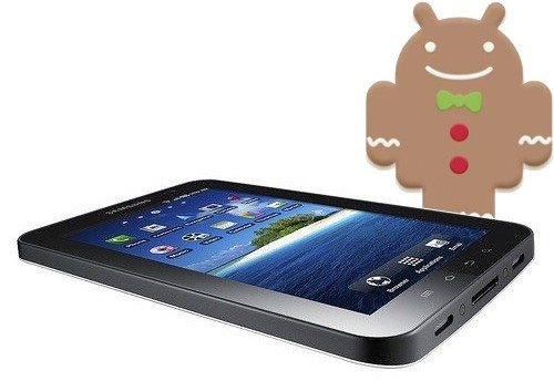 galaxy tab gingerbread - Samsung Galaxy Tab recebe atualização Android 2.3.3