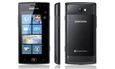 Samsung Omnia W windows phone - Samsung Omnia W: segundo Windows Phone à venda no Brasil