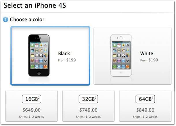 iphone4sunlock - Apple já vende o iPhone 4S desbloqueado nos EUA