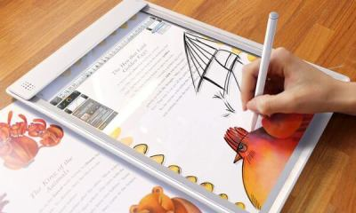 iris tablet7 - IRIS: um tablet transparente
