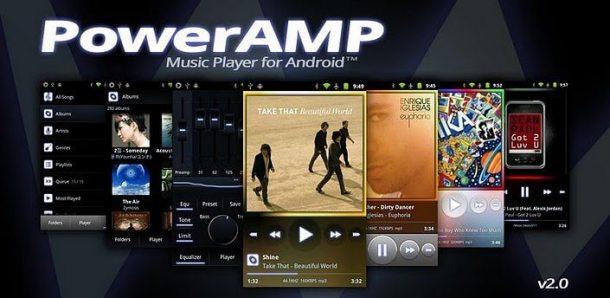 powerAMP 2.0 610x298 - PowerAMP lança versão 2.0 (Android)
