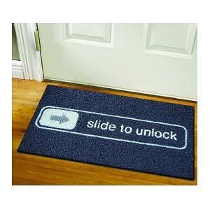 slide to unlock doormat - Thisiswhyimbroke.com: todos os desejos geeks num só site