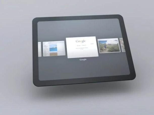 google tablet preco 610x456 - Google pode lançar tablet próprio até abril