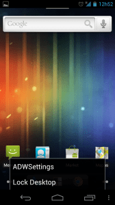 ADW Launcher Settings 168x300 - Saiba como mudar a aparência do seu Android - Parte 1 - Launchers