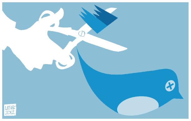 twitter is censored 2 610x385 - Política de censura no Twitter: o pássaro vai parar de cantar?