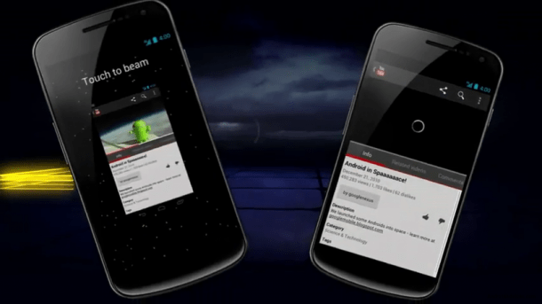 Android Beam 818x460 610x343 - Tutorial: como usar o Android Beam (NFC)