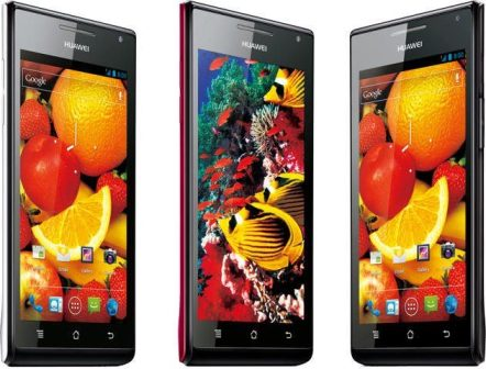 huawei ascend p1 s three colors - Ascend P1: o smartphone Super AMOLED da Huawei