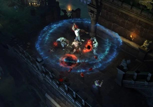 Diablo 3 610x427 - Servidores do Diablo III sofrem queda durante o primeiro dia