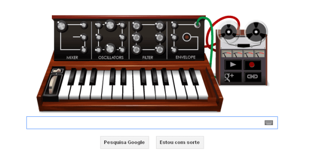 doodle 610x316 - Google homenageia pai do sintetizador
