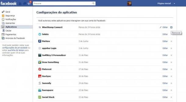 facebook delete app 610x335 - Como remover aplicativos do Facebook