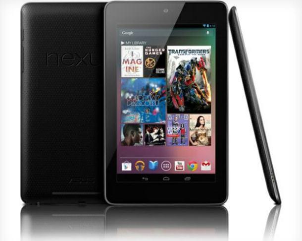 nexus7 610x486 - Google I/O 2012: conheça o tablet Nexus 7