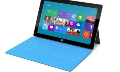 surface tablet - Microsoft Surface vendeu 1 milhão e meio de unidades