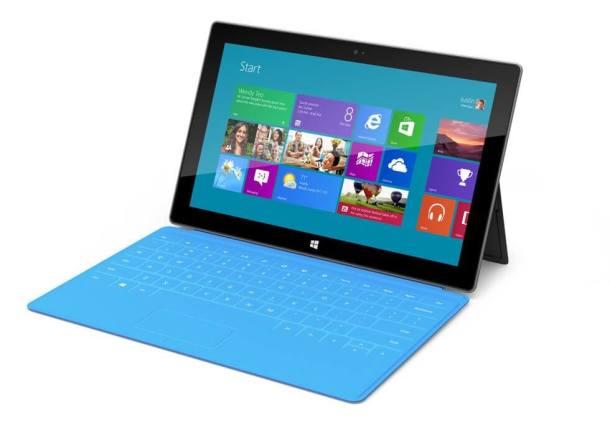 surface tablet 610x446 - Windows Surface - Tudo que você precisa saber