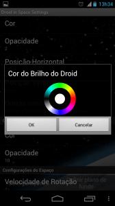 Selecionar Cor do Brilho 168x300 - Saiba como mudar a aparência do seu Android – Parte 3 – Papel de parede animado