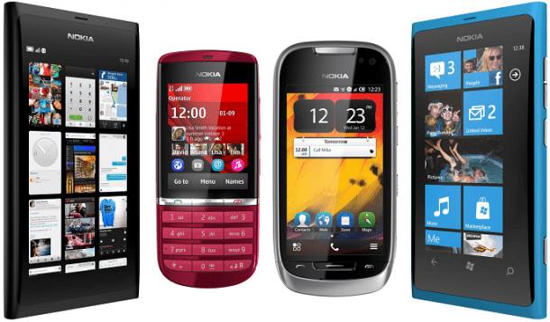Nokia plataformas 610x357 - SP9: atualize o nono dígito de SP em celulares com Windows Phone, Symbian e MeeGo