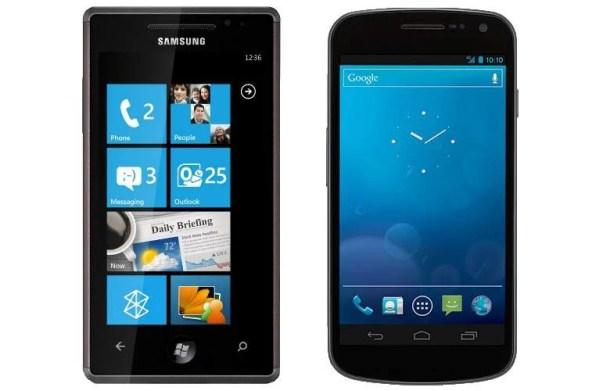 android windows phone 610x391 - Apple x Samsung: a disputa dos smartphones
