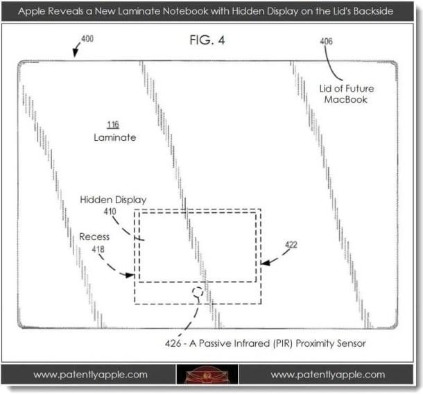 6a0120a5580826970c017c322dc3c9970b 800wi 610x568 - Patente da Apple indica tela escondida na parte exterior de futuros Macbooks