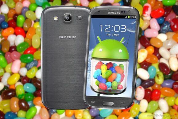 Galaxy SIII Android 4.1 Jelly bean - Galaxy SIII começa a receber atualização 4.1 do Android (Jelly Bean)