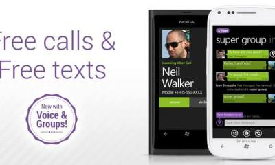 Viber for Windows Phone - Viber ganha versão exclusiva para a linha Lumia (Windows Phone)