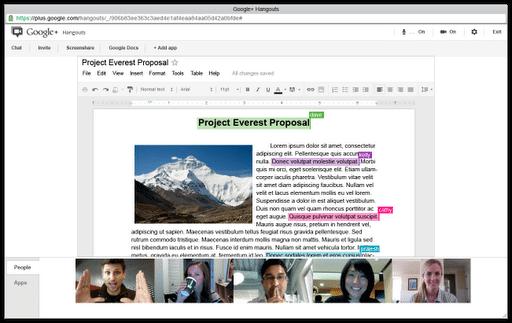 hangoutsdocs - Trazendo o Google+ para o ambiente de trabalho