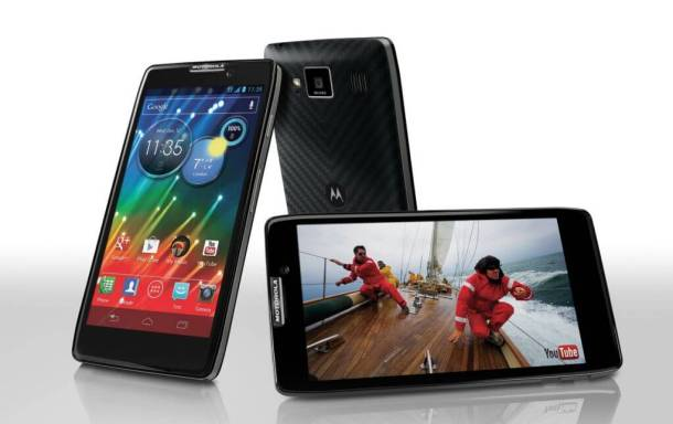 Motorola lança RAZR HD: o primeiro smartphone 4G do Brasil 6