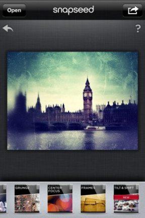 snapseed 1 - Google compra produtora do Snapseed, concorrente do Instagram