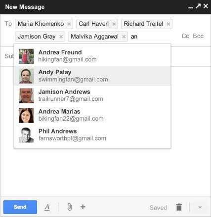autocomplete2 1 610x627 - Google adiciona novos recursos ao Gmail