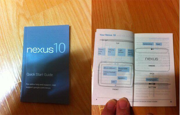 manual nexus 10 ultimate - Surgem informações sobre o Nexus 10, tablet da Samsung