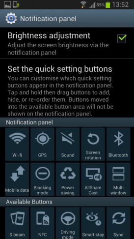 Galaxy SIII notification 562x1000 - Galaxy SIII: nova ROM da Samsung traz modo multi-view, page buddy e nova galeria