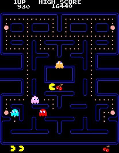 Reprodução: Pac-Man