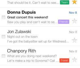 Gmail iOS 2 - iOS também recebe atualização do Gmail (v2.0)