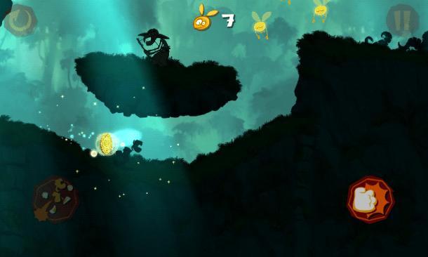 Screenshot 2012 12 26 10 56 28 610x366 - Rayman Jungle Run recebe atualização com melhorias, novas fases e desafios.