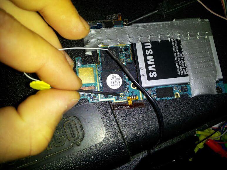 Galaxy SIII inicializa através do cartão de memória