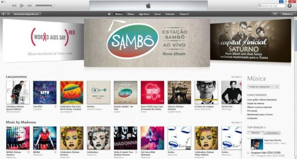 iTunes 11 Brasil