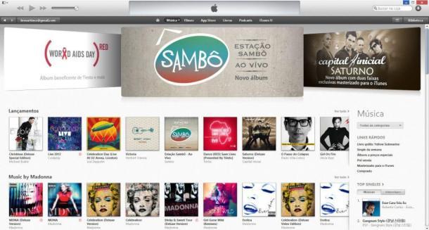 iTunes 11 Brasil 610x327 - Análise: faça o download e conheça o novo iTunes 11