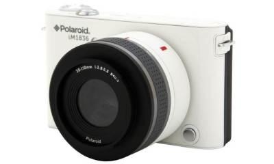 Polaroid anuncia primeira câmera com Android e lentes removíveis - CES 2013: Polaroid anuncia sua primeira câmera Android e lentes intercambiáveis