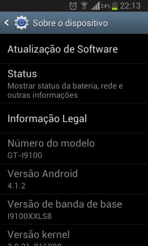 Screenshot 2013 01 24 22 13 03 - Análise: ROM oficial da Samsung com Android 4.1.2 para o Galaxy SII (GT-i9100)