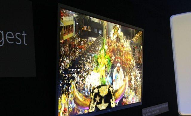 TV UltraHD 4K OLED de 56 polegadas da Sony - CES 2013: veja as melhores Smart TVs da Feira