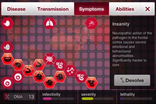 "plague sintomas - Game Review: ""Plague Inc"" (iOS/Android)"